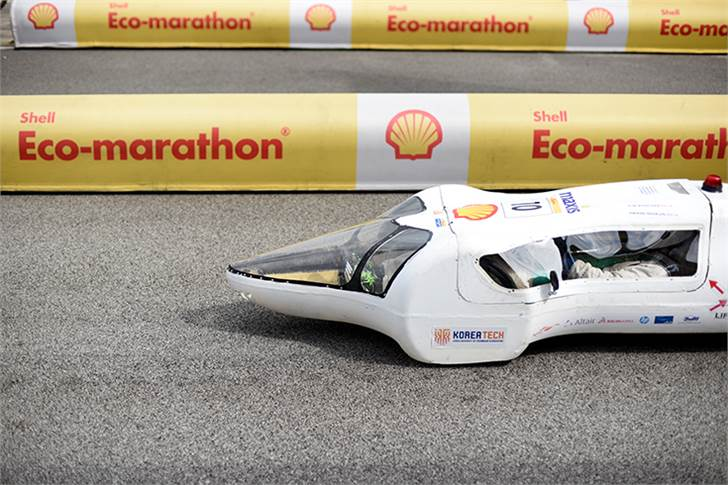 Team KUTY, race number 10, from Korea University of Technology and Education, South Korea, competing in the Prototype - Gasoline category during Day 3.