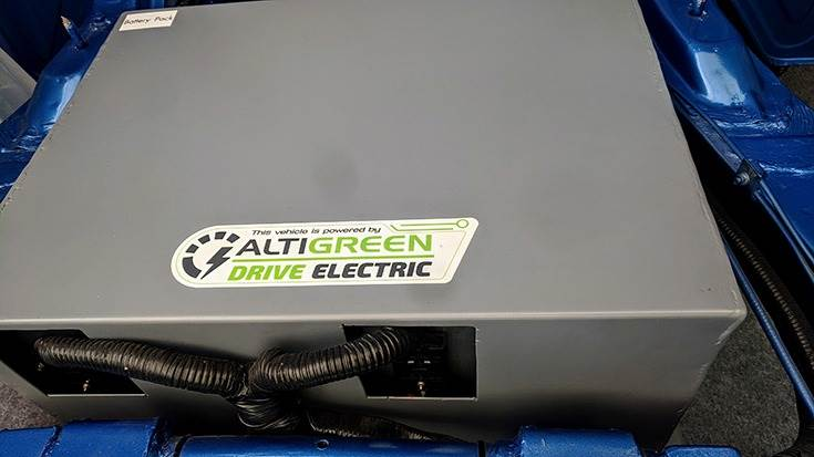 Altigreen assembles its own battery pack with only the lithium-ion cells being imported.