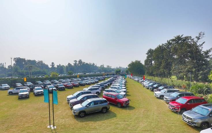MG Motor India delivered 700 units of the Hector SUV on Dhanteras day.