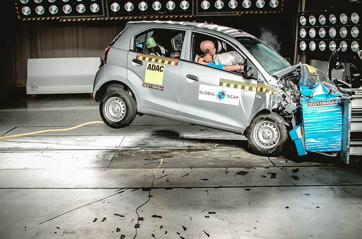 Hyundai Santro gets two stars for safety from GNCAP