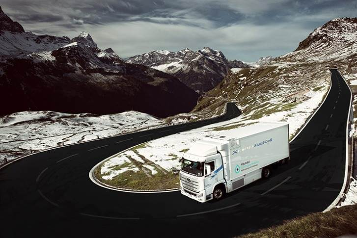 The first seven Xcients have been delivered to customers in Switzerland. A total of 50 hit the roads there this year.