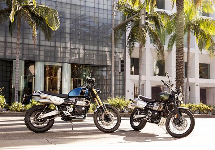 Of the two new Scrambler 1200s, Triumph Motorcycles will bring the base XC model first and consider the even more off-road-focused XE at a later date.