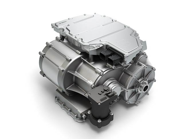 The CVT4EV concept, which has numerous Bosch components, has been developedby Bosch Transmission Technology.