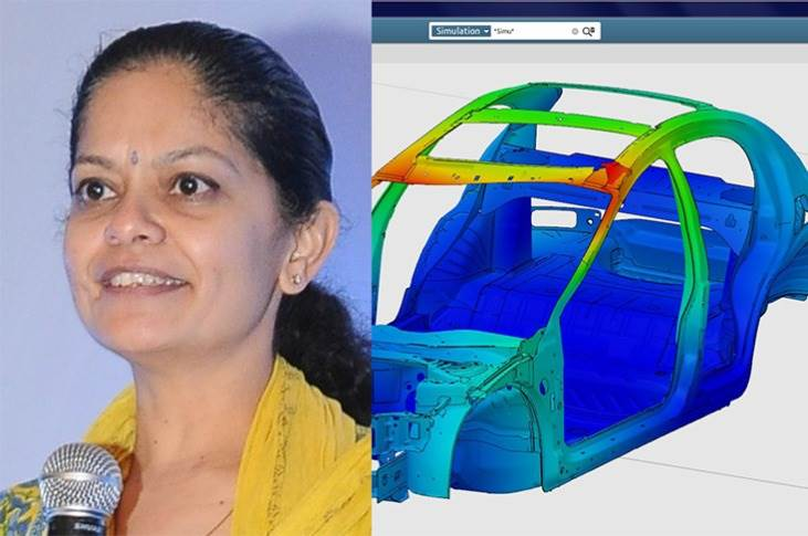 """Dassault Systemes' Renuka Srinivasan: """"To accelerate new product development, companies have increased the number of simulations they conduct, to compensate for not being able to do enough of physical or real-world testing during the pandemic."""""""