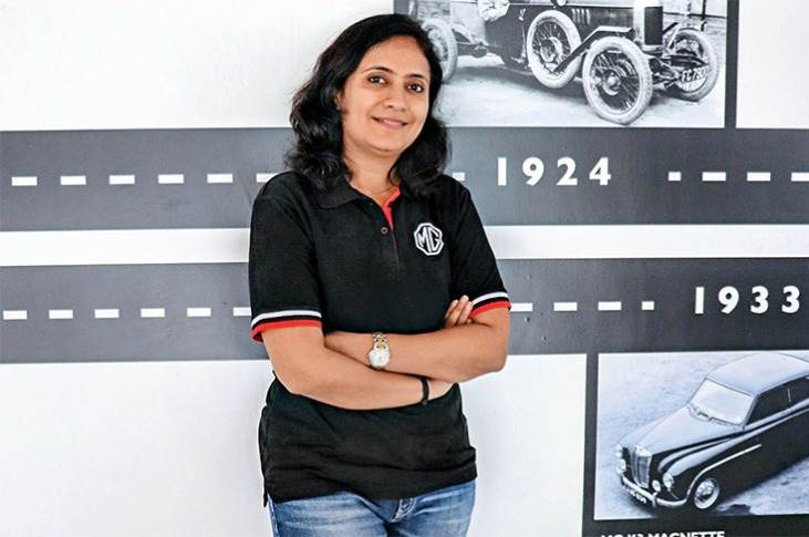 "Mausam Joshi, Assistant General Manager of Human Resources, MG Motor India: ""We have women employees in almost all areas in the plant, including manufacturing, maintenance and supply chain."""