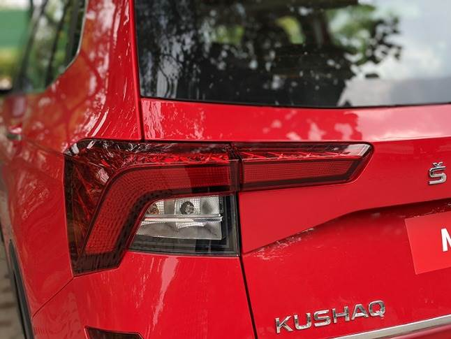 Wrap-around, sleek LED tail lamps classic European touch to exterior styling.