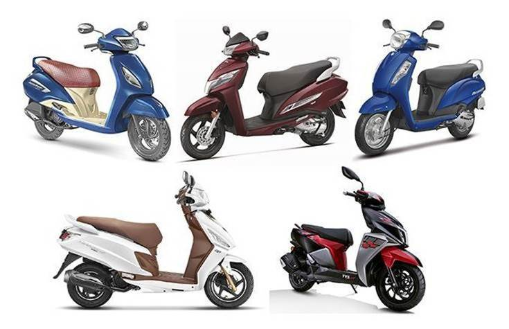 Suzuki India is the sole scooter manufacturer to have notched sales growth in the April-October 2019 period. All other six scooter makers have seen sales declines.