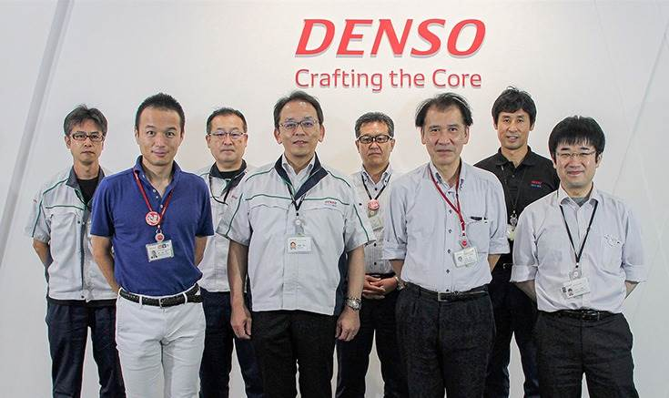 The team that developed the new battery monitoring IC.