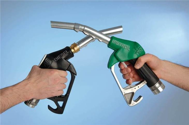 In the past 10 months, petrol price has risen by 17.92 a litre and diesel by Rs 18.48 a litre in the financial capital of the country; price differential down to Rs 9.53 a litre; rate increase more in diesel
