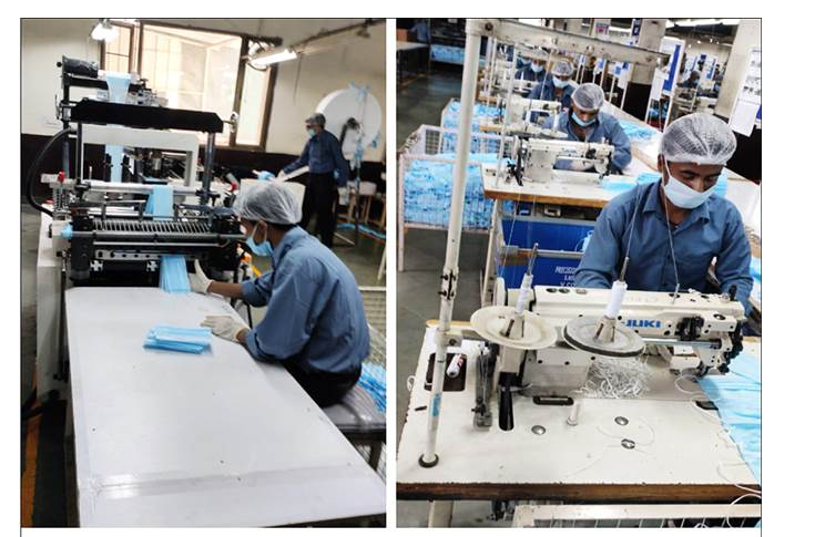 After intensive work by engineers of Maruti Suzuki and Krishna Group and active support by Department of Textiles, Government of India, the mask was finally approved by SITRA laboratory.