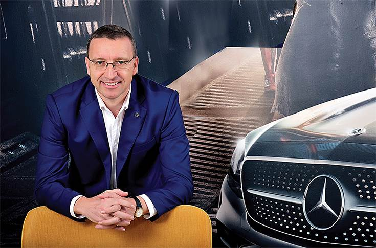 "Martin Schwenk, MD and CEO, Mercedes-Benz India: ""Online will be an additional channel and behaviour patterns will also change. It will challenge the way we have worked in the past."""