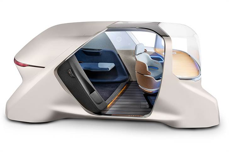 The XiM20 from Yanfeng is a smart cabin concept for fully autonomous ride-sharing vehicles, offering new customisable consumer experiences.