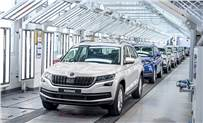 The milestone 750,000th vehicle is a Kodiaq SUV, which is particularly popular in Russia