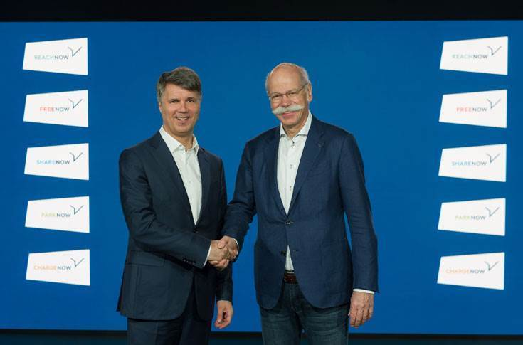 On February 22, 2019 BMW Group and Daimler Mobility announced the new JV. The partnership was signed between Harald Kruger, management board chairman, BMW AG and Dieter Zetsche, former chairman of the Board of Management of Daimler AG and Head of Mercedes-Benz Cars.