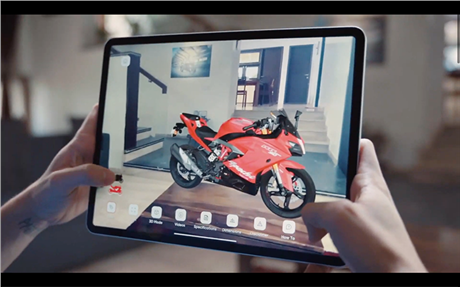 TVS launches augmented reality app