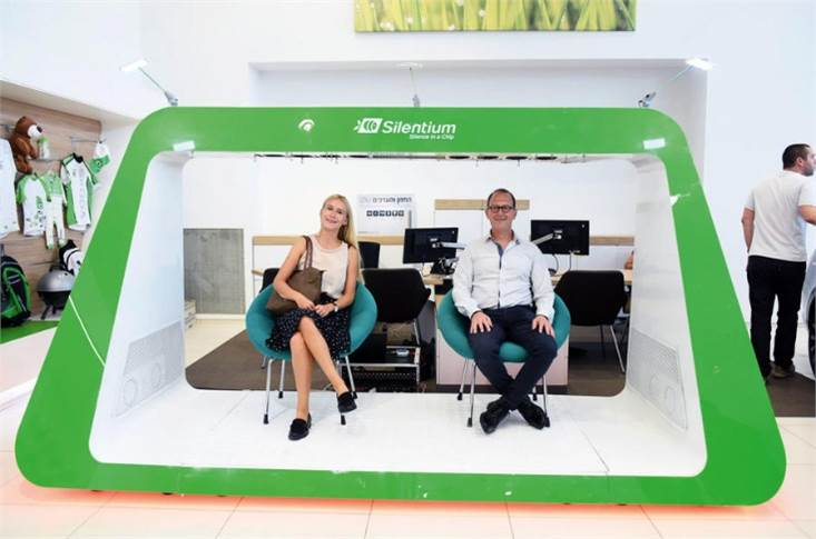 Silentium, one of the start-ups Skoda is collaborating with, makes a noise cancelling system for car cabins