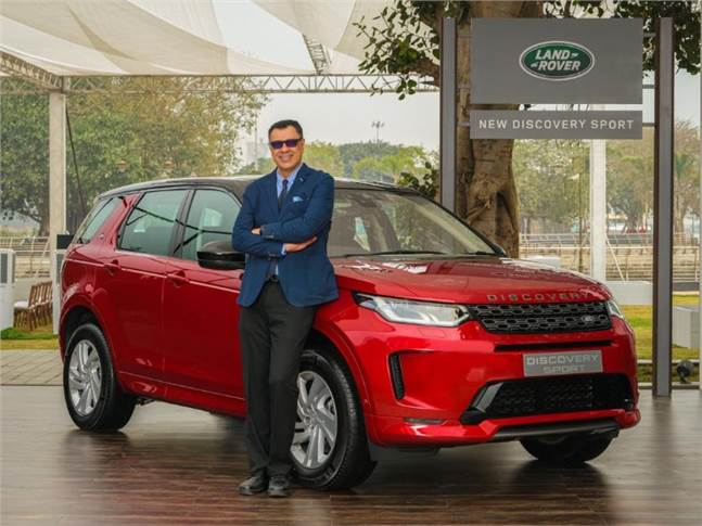 "Rohit Suri: ""The New Discovery Sport is a bold evolution of the original design, incorporating the latest in technological advancements."""