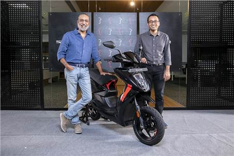 Ather unveils Series 1 collector