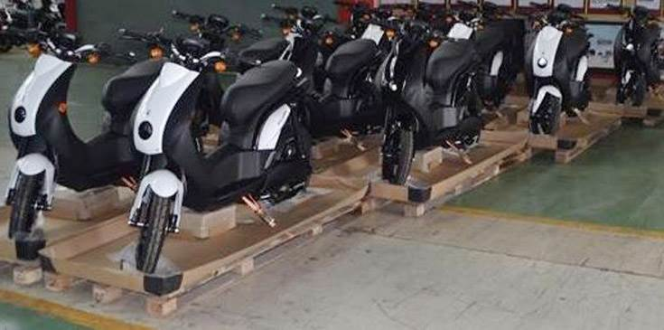 The first batch of made-in-Pithampur E-Ludix scooters have been shipped to Peugeot Moto, France.