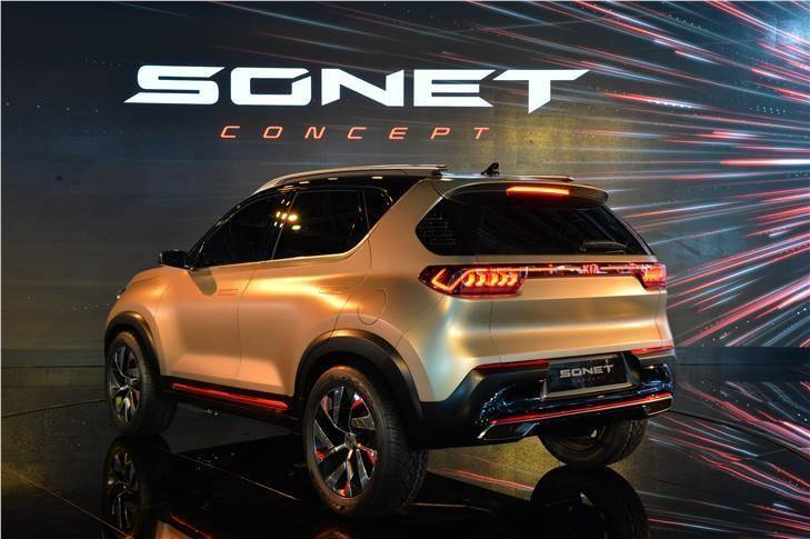 The Sonet concept was first showcased at the Auto Expo 2020.