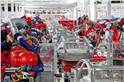 Tesla production continues to grow, funds permitting