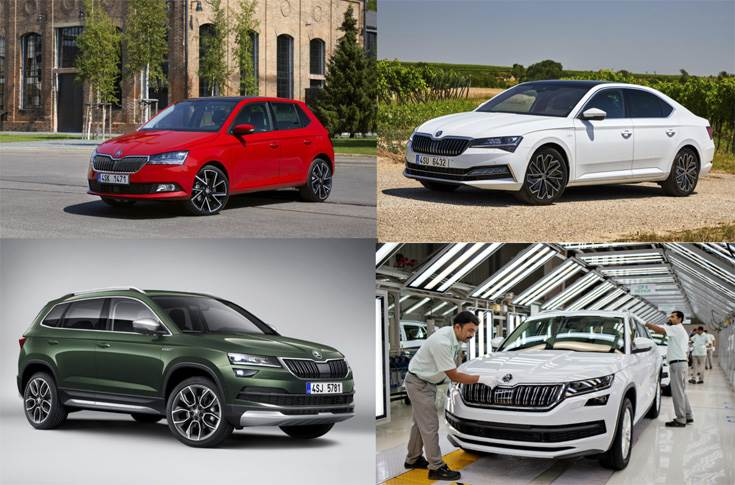 Skoda will initially retail the imported from Europe Fabia, Superb, Kodiaq and Karoq in Sri Lanka, followed its best-seller, the Octavia later this year.