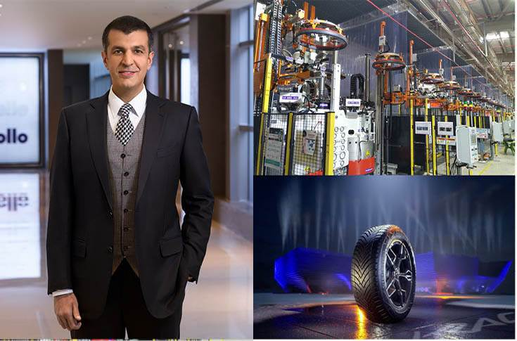 """Neeraj Kanwar, Vice-Chairman and MD, Apollo Tyres: """"Apollo Tyres has been increasing its investments in R&D. Today, our cost-to-sale in R&D is 3 percent compared to 1 percent five years ago."""""""