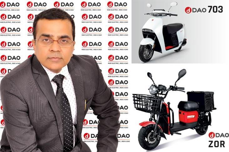 """Dao EV's Maneesh Singh: """"Battery swapping is the solution. We are going to have the distribution model by having docks with fully charged batteries at the kirana stores."""""""
