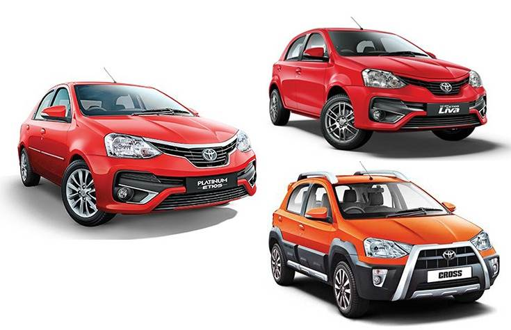 Since 2010, Toyota has cumulatively sold over 444,000 units of the Etios family.