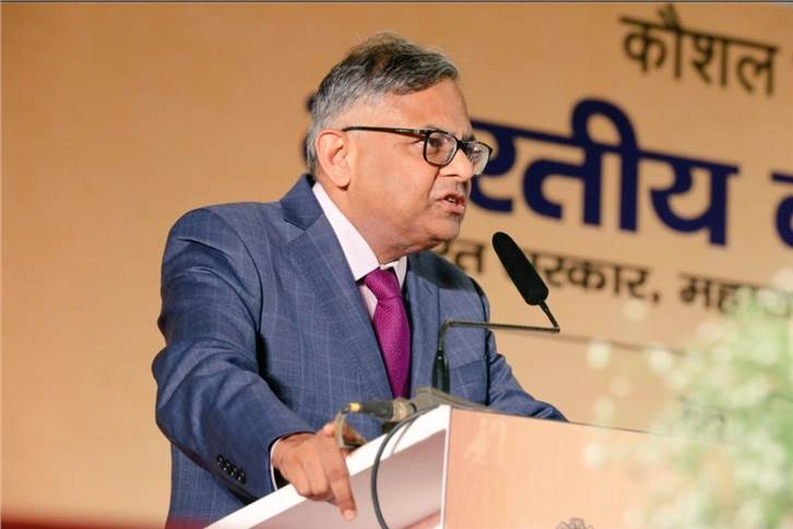 "Natarajan Chandrasekaran : ""Jobs are critical for economic growth and with the current demographic dividend, skill development is the appropriate solution to get the youth productively employed."""