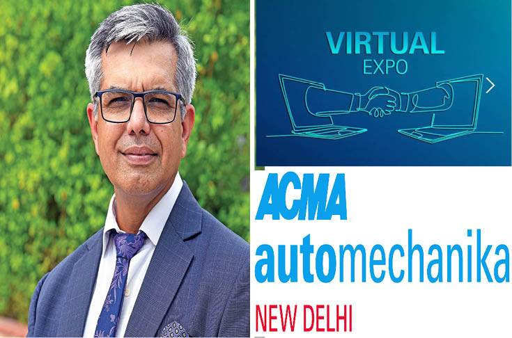 Vinnie Mehta: 'We already have potential buyers from 200 cities of 31 countries at ACMA Automechanika.