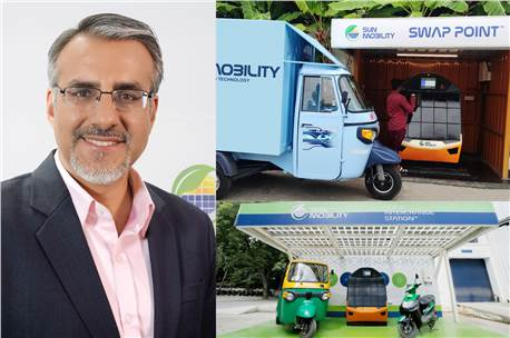 Sun Mobility gets $50 million from Vitol to accelerate global EV infra network