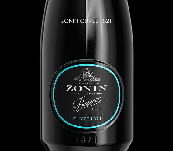 Innovative bottle of ZoninCuvée 1821 stood out in the