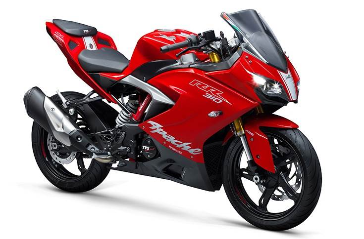 The Apache RR 310, which has throttle-by-wire tech and four rides modes, is the most powerful Apache.