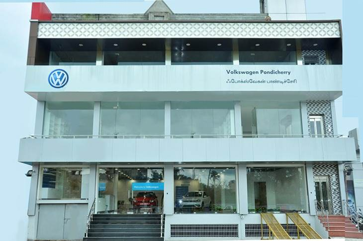 Volkswagen Pondicherry takes the carmaker's all-India network to 150 sales and 116 service touch-points covering 108 cities.