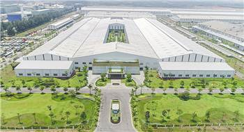 At the Chu Lai plant, THACO will assemble parts kits into chassis, before equipping them with their bodywork.