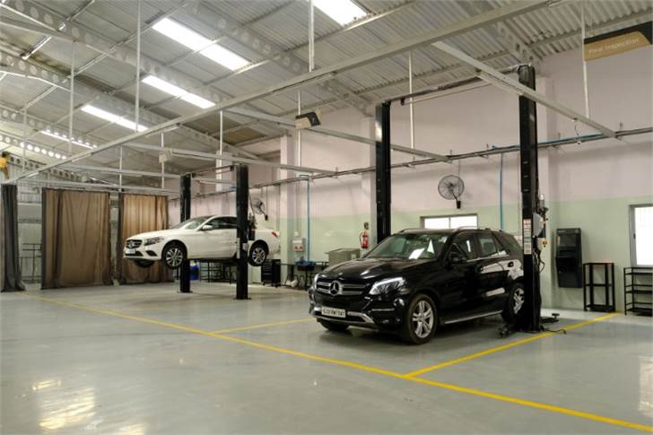 The service facility is spread across 23,000 sqft and has 22 service bays that can service over 5,000 cars a year.