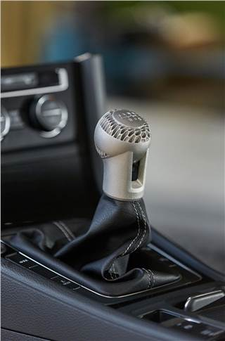 A innovative Volkswagen gearshift knob created by HP Metal Jet.