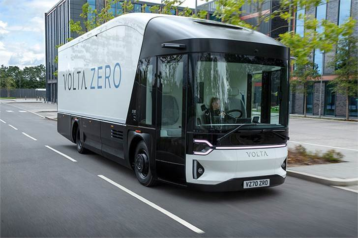 Volta Zero uses 160 - 200 kWh of battery power, and Volta Trucks has selected to fit the vehicle with Lithium Iron Phosphate batteries instead of a Nickel Cobalt Manganese set up used in most passenger cars.