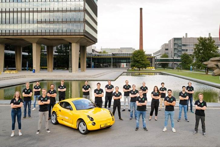 Team of 21 BA students from the Eindhoven University of Technology's TU/ecomotive have developed Luca, an electric car to show the world that the hypothetical, sustainable car of the future can be a reality today.