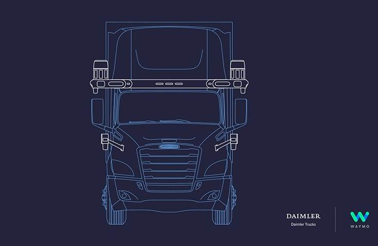 The autonomous Freightliner Cascadia truck, equipped with the Waymo Driver, will be available to customers in the U.S. in the coming years.