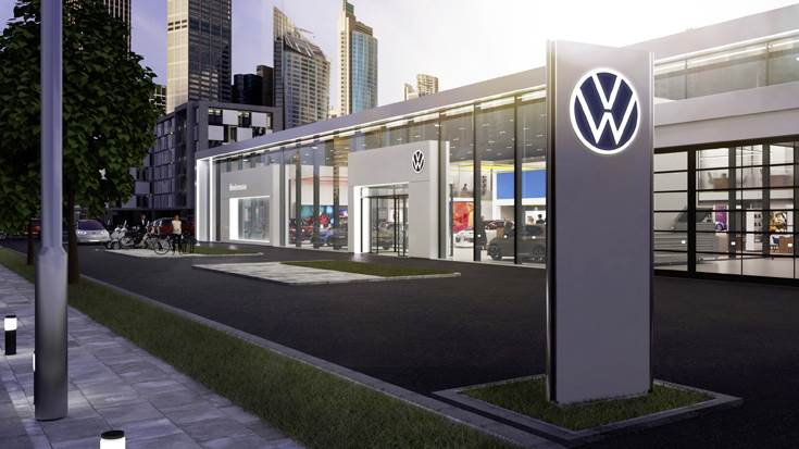 Volkswagen's rebranding one of the largest projects globally covering 171 markets in 154 countries. About 70,000 logos will be replaced at 10,000 facilities of dealers and service partners worldwide.