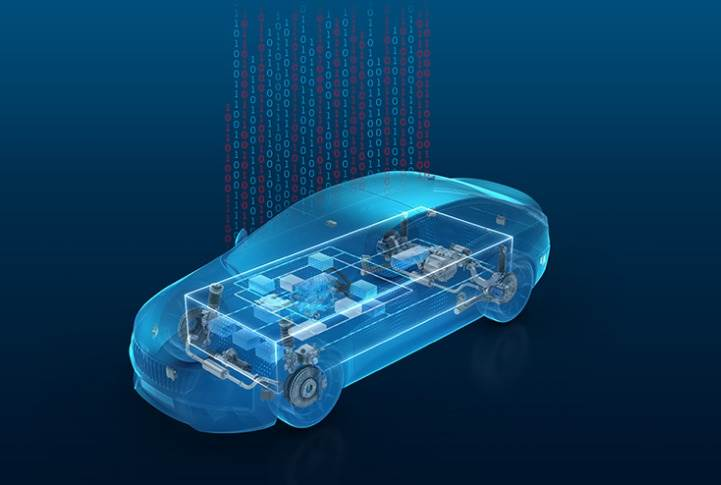 As a 'mediator', the ZF middleware enables efficient communication from software functions to hardware components.