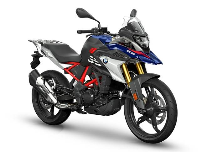 New BMW G 310 GS' 313cc single-cylinder engine develops 34hp at 9500rpm and a maximum torque of 28 Nm at 7500 rpm.