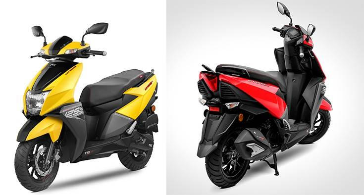 Launched on February 5, 2018, TVS Motor Co
