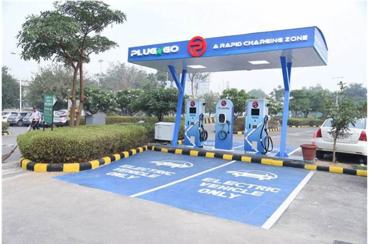 EV Motors launched its public EV charging outlet under the brand