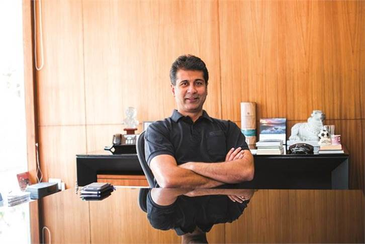 """Rajiv Bajaj: """"We are growing at over 50% but still losing production every month due to supply chain problems. This month we will lose, between domestic and exports, 6,000 KTMs because of shortage of semiconductors and ABS parts from Bosch."""""""
