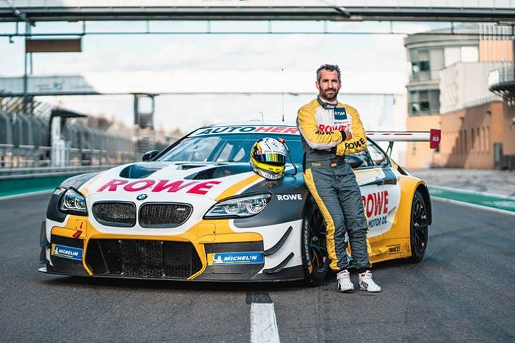 Timo Glock will also use Space Drive to steer his BMW M6 GT3.