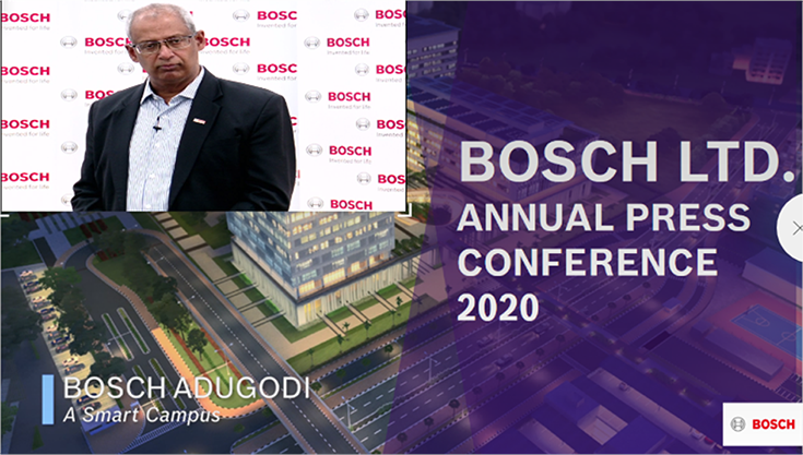 "Soumitra Bhattacharya, M, Bosch Ltd: """"While we are facing market realities, we will bounce back in the mid-term and are very confident of the long-term. We anticipate proper recovery happening for us by FY2022-23 / 24."""