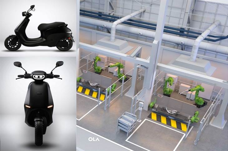 With annual capacity of 2 million units, using 10 production lines, Ola estimates one e-scooter will roll out every 2 seconds.